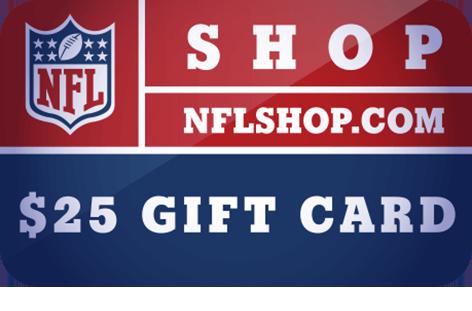 $25 NFLShop.com Digital <br /> Gift Card(s)